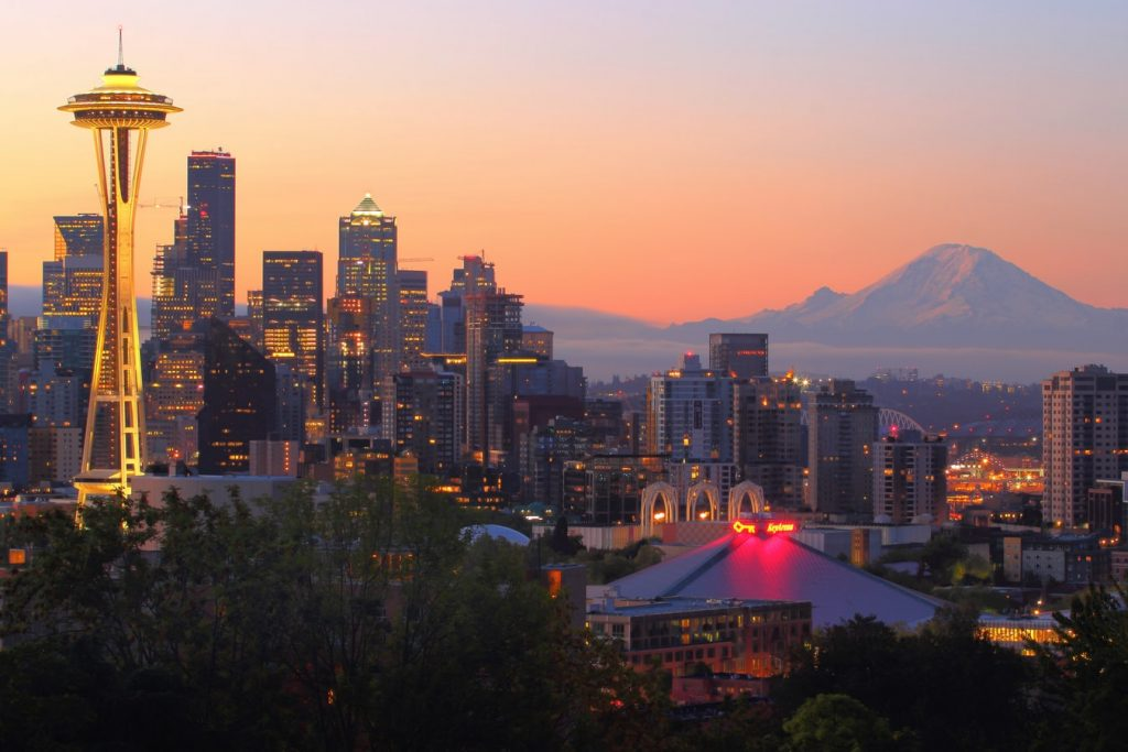 Seattle, Washington, home of the University of Washington
